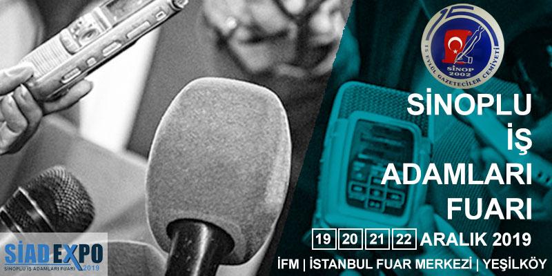 Sinop 15 Eylül Gazeteciler Cemiyeti Siad Fuarı